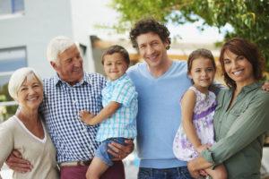 Family that sees Lessburg dentist